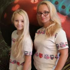 футболки Пампиду  с принтам совы